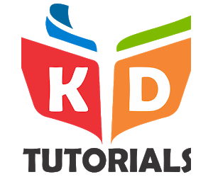 KD tutorials logo-TechMR